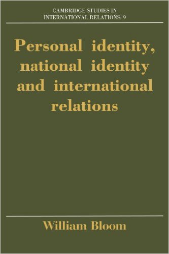 Personal Identity, National Identity, International Relations