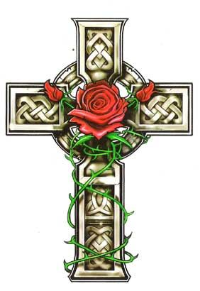 The Rose on the Cross