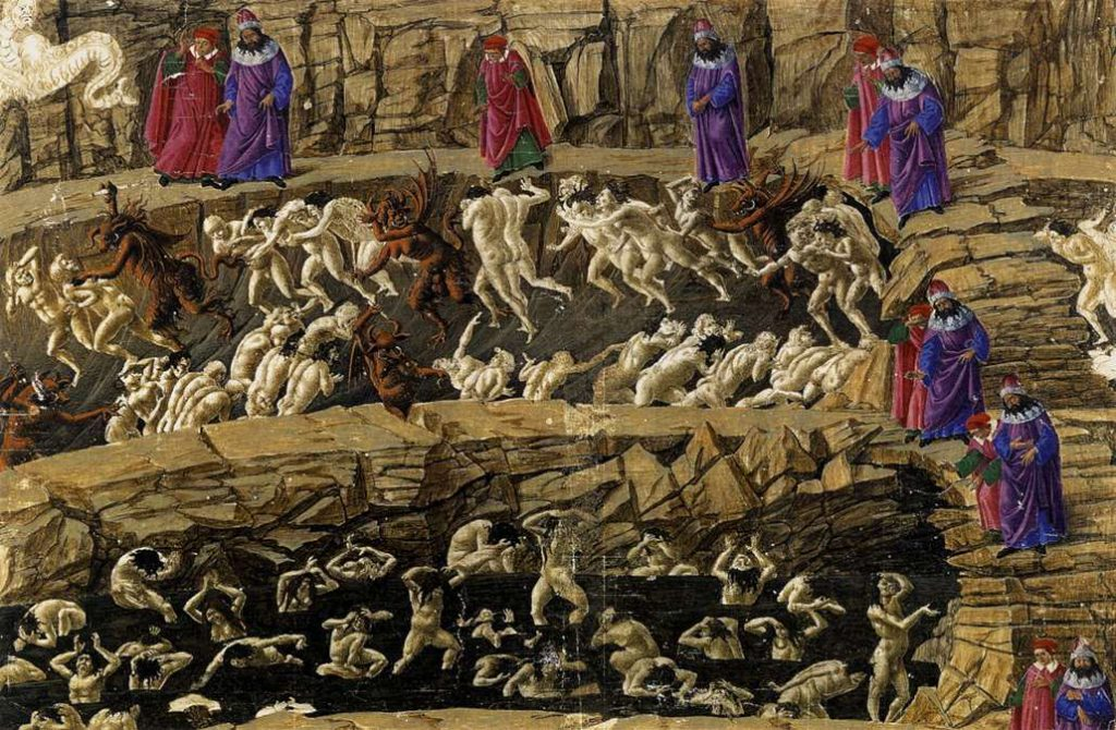 Botticelli: Dante's Inferno